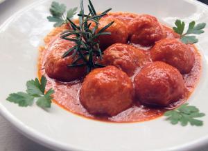 piatto-polpette